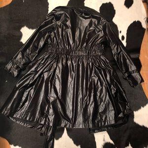 Miu Miu Jackets & Coats - Miu Miu vinyl-look raincoat, size 36/6
